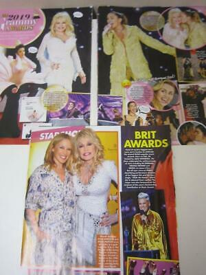 DOLLY PARTON*Magazine Clippings*2019 Grammy Awards & 9 to 5:The Musical Premiere