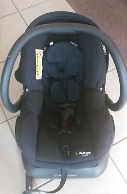 Maxi-Cosi Mico 30 Infant Baby Car Seat with Base Night Black 5-30 lbs