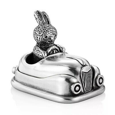 Royal Selangor Children's Bunny Car Figurine - Brand New In Box