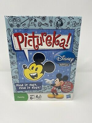 Hasbro Pictureka! Disney Edition Board Game - Brand New Sealed Ages 6+ Free Ship