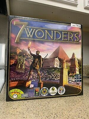 7 Seven Wonders Board Game BRAND NEW FACTORY SEALED