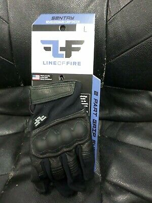 Line of Fire 2-TS-GPG-BLK-XL Precision Mens Black X-Large Tactical Duty Gloves