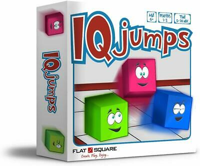 IQ Jumps by Flats square Ultimate Board Game to Improve IQ