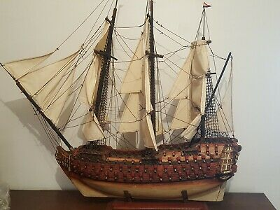 Wooden Sailing Ship Antique Excellent Condition Pickup only