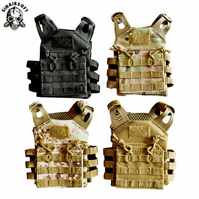 JPC Military Tactical Mini Vest Molle Soda Beer Bottle Beverage Insulator Cover