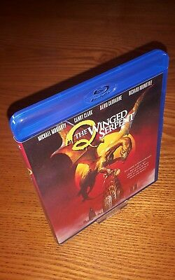 Q: THE WINGED SERPENT Bluray US import Shout/Scream Factory region a free abc