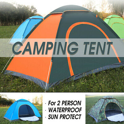 2-3 Person Waterproof Camping Tent Automatic Pop Up Quick Shelter Outdoor Hiking