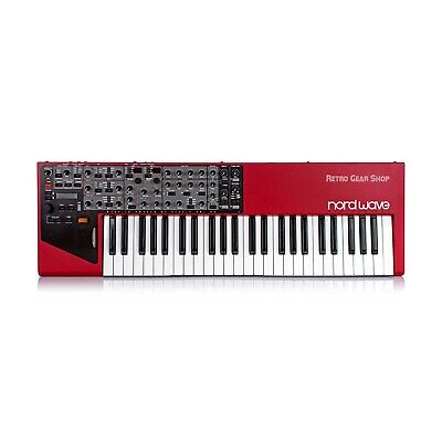 Clavia Nord Wave Keyboard Synthesizer + Hard Case