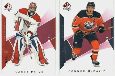 2018-19 Ud Spa Sp Authentic Red Parallel U Pick Free Combined Shipping