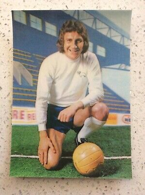 B1 330 Topps Football Red 1977 Roy McFarland Derby County No