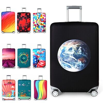 New 10 Style Travel Elastic Luggage Protective Cover Suitcase Dust Case Covers