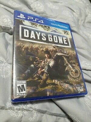 Days Gone (Playstation 4, 2019) PS4 - Standard Brand NEW Sealed