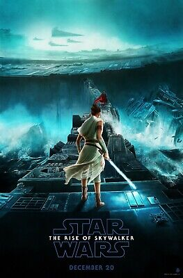 "New Art Print Of Movie Poster 2019 ""Star Wars : The Rise of Skywalker"" (4 Sizes)"