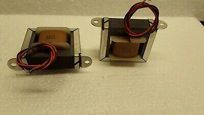 Pair of Plate chokes for tube amplifiers,8037