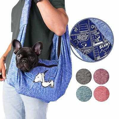 Peanuts Snoopy Small Pet Sling Dog Cat - Airline Approved