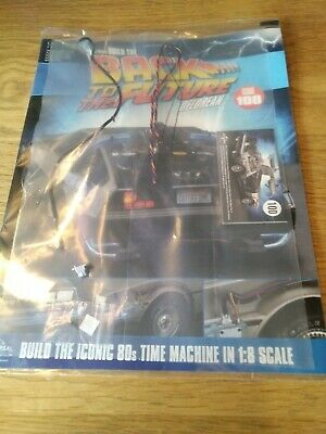 Eaglemoss - Issue 100- Build The Back To The Future Delorean (with sealed parts