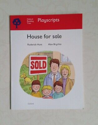House for Sale by Hunt, Rod  OXFORD READING TREE  EX-LIBRARY PAPERBACK    Q2