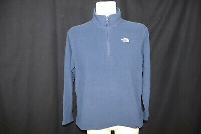 The North Face Man's Polartec Fleece Half Zipped Thermal  Top / Jacket sz XL