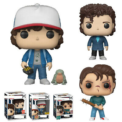 UK Funko POP Limited Edition Stranger Things Eleven DUSTIN STEVE Figure Toy Gift