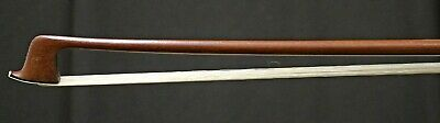 Fine 100+ Old Germany Violin Bow, Pernambuco and Silver mounted