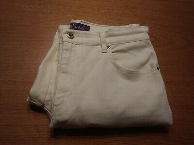 Women's Gloria Vanderbilt Size 10 M Bright Yellow Amanda Casual Pants Inseam 30!