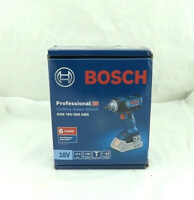 Bosch Cordless Impact Wrench Brushless 18V GDS 18V-300 ABR