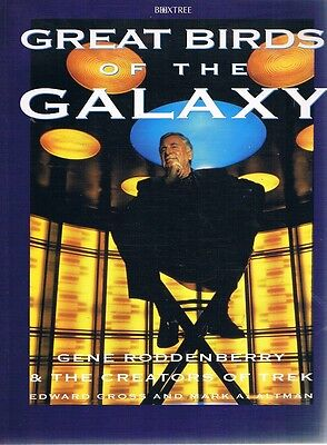 Great Birds Of The Galaxy by Roddenberry Gene - Book - Pictorial Soft Cover
