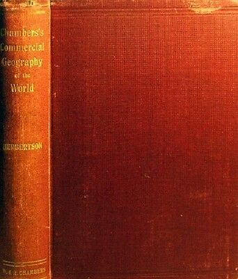 Commercial Geography Of The British Isles by Herbertson A.J - Book - Hard Cover