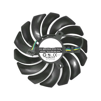 Cooling fan PLD10010B12HH for MSI GeForce RTX 2070 ARMOR 8G OC Graphics Card 12V