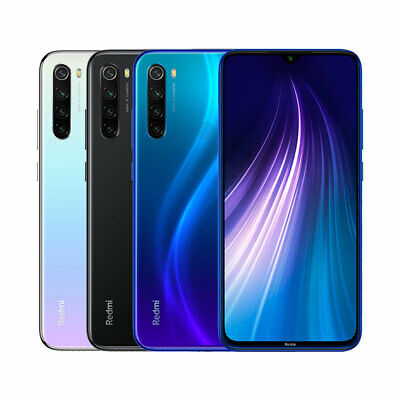 "Xiaomi Redmi Note 8 4GB+64GB 6,3"" 48MP 4000mAh Entsperren Smartphone EU Version"