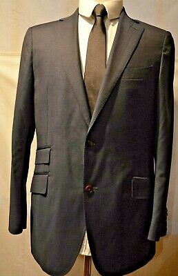 SIZE S // SMALL INDIGO BNWT MENS M/&S SLIMFIT WAISTCOAT LIMITED COLLECTION
