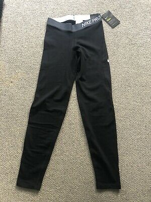brand new with labels- girls nike pro leggings Girls XL, would fit age 12-13