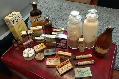Vintage | Antique Pharmacy Lot - NOS - 30 Pieces