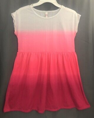 SO Kohl's Dress White Pink Red Size 16 XXL Girl's