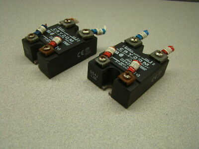 Crydom D2425 Solid State Relay, 3-32V, 25A, Panel Mount, QTY of 2