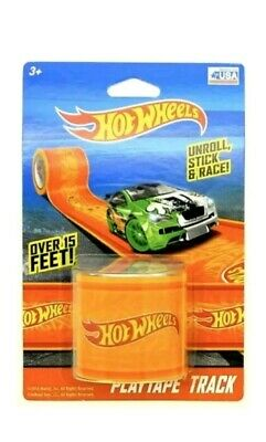 16 Curves Total WOW Hot Wheels Playtape*NEW* Track /& Curve Set 60 ft Tracks