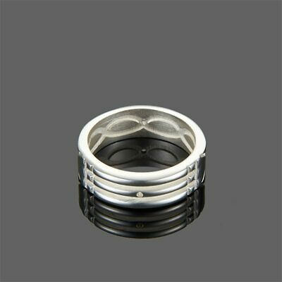 Atlantis-Ring Gold Silver Plated Stainless Steel Anillo Atlante Acero Inoxidable
