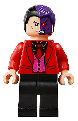 LEGO minifigure - Two-Face - (sh594) Super Heroes split from 76122 NEW