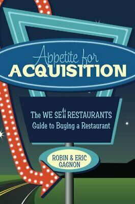 APPETITE FOR ACQUISITION By Robin Gagnon *Excellent Condition*