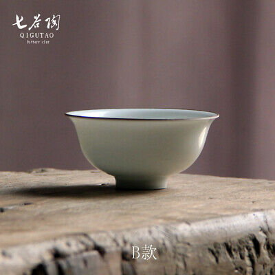 China fine Collection Porcelain ceramic white glaze gongfu tea cup bowl 3inch