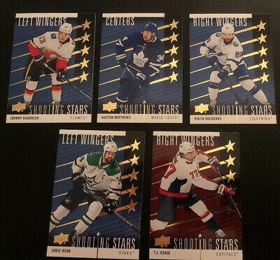 2019-20 Upper Deck Insert Mix Of Portraits Pure Energy Next Gen Shooting Stars
