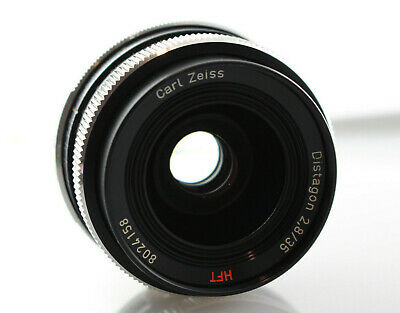 *RARE* Carl Zeiss Distagon 35mm f/2.8 HFT Lens for Rollei *Made in W. Germany*