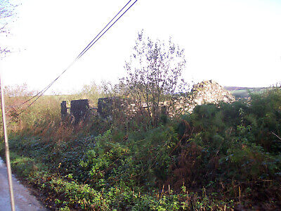 Cornwall Derelict Stone Building  In 1.2 Acres Good Road Access Near Commonmoor