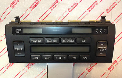90 91 92 1990 1991 1992  LEXUS LS400  A//C CLIMATE CONTROL LCD DISPLAY  NEW