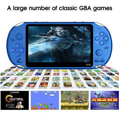 """8GB 5.1"""" Portable Handheld Video Game Console Player PSP FC Built-In 10000 Games"""