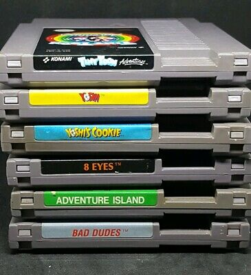 Classic Nes Nintendo Games Good Labels Tested