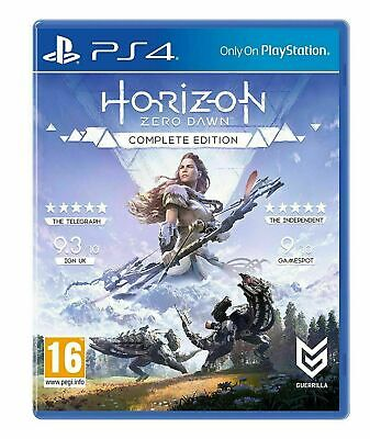 Horizon Zero Dawn Complete Edition - Playstation Hits - Ps4 - Brand New & Sealed