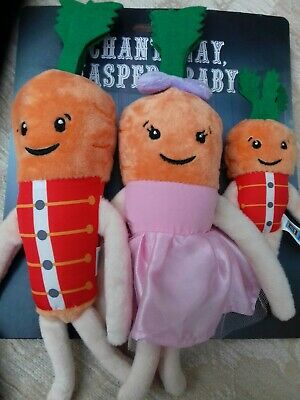 🥕KEVIN THE CARROT OFFICIAL ALDI 2019 - Family Pack  🥕**BRAND NEW** the kids