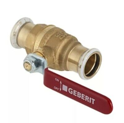 Geberit- Mapress MPS BALL VALVE WITH LEVER 54mm 94928