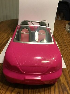 Barbie Glam Convertible Doll Vehicle Pink Car Mattel New Hot Seats Girls Toy